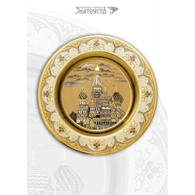 Тарель  «Храм Василия Блаженного»