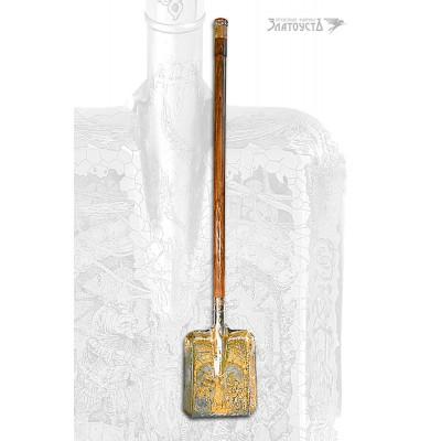 Подарочная лопата