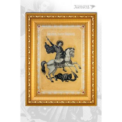 Икона «Георгий Победоносец» 3