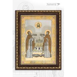 """Икона """"Святые благоверные Петр и Феврония"""""""