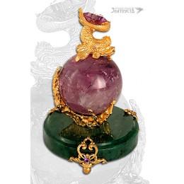 Сувенир «Аметистовый шар»