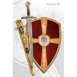 Меч и щит «Тамплиер»