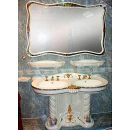 Украшение интерьера ванной комнаты