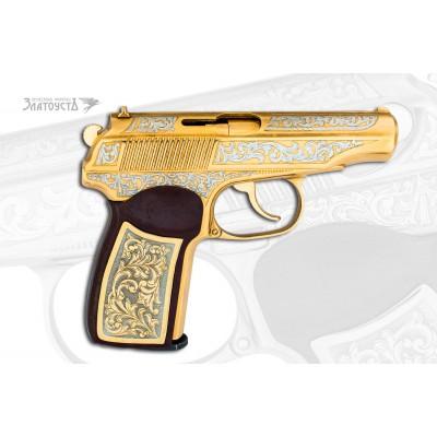 Золотой пистолет «ПМ»